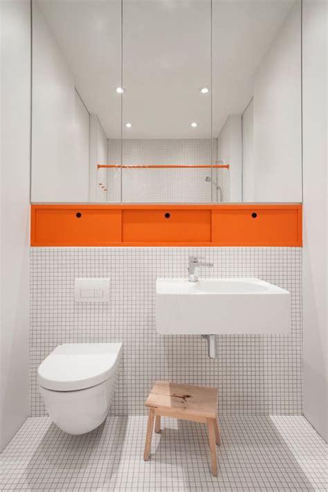 orange bathtub 15 orange bathroom ideas