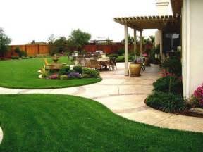 Fabulous simple backyard landscape cheap landscaping ideas pictures