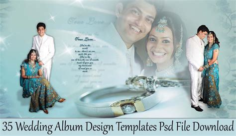 Wedding Album Design In Psd by 35 Wedding Album Design Templates Psd File Studiopk