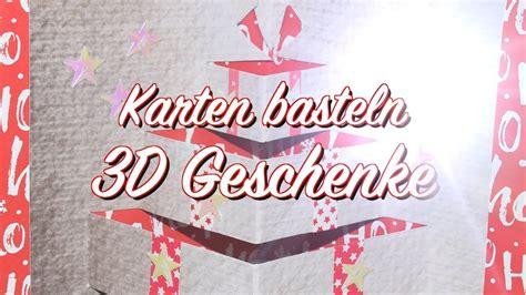 Geschenke Zu Weihnachten Basteln 204 by 3d Geschenke Karte Basteln Anleitung Weihnachten