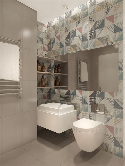 funky bathroom ideas funky wallpaper pattern interior design ideas