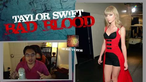taylor swift bad blood reaction taylor swift feat kendrick lamar bad blood reaction