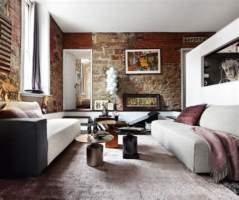 living room brick wall 10 brick walls living room interior design ideas https