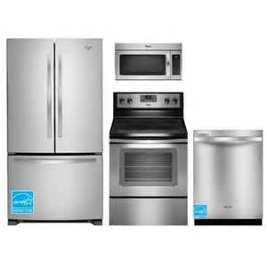 whirlpool whirlbf4pcbnd stainless steel complete kitchen