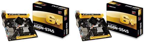 Biostar A68n 5745 Built In Amd A10 5745 biostar выпустила mini itx платы a68n 5745 и a68n 5545 с