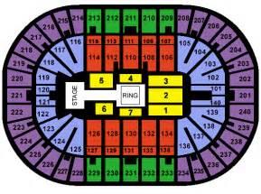 map us bank arena u s bank arena seating chart