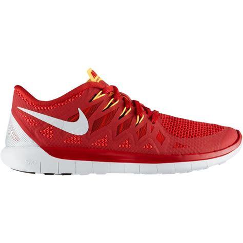 mens nike 5 0 running shoes nike mens free 5 0 running shoes light crimson