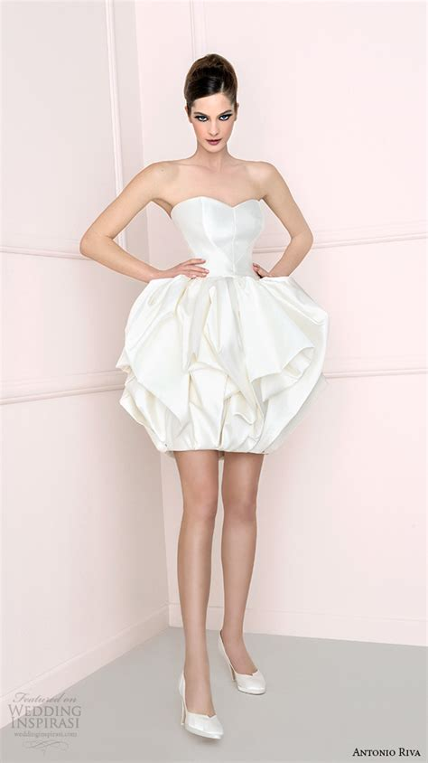 mini skirt wedding dresses antonio riva 2016 wedding dresses wedding inspirasi