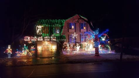 holiday light displays near me musson s famous christmas display christmas light near