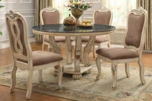poundex furniture 5 piece poundex traditional marble top