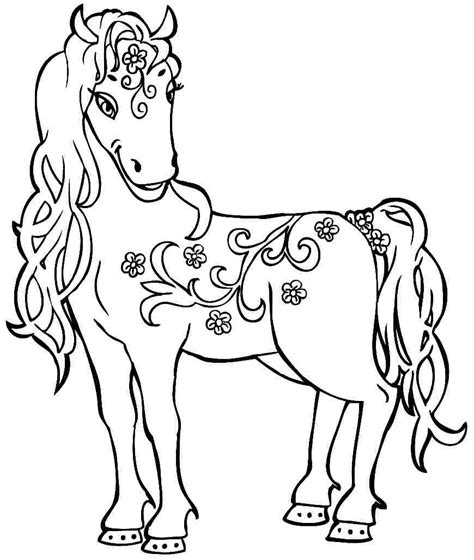 preschool coloring pages horses 14 images of horse trailer coloring pages for preschoolers