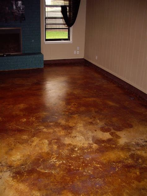 prepping to stain concrete in the kitchen 55 best images about kitchen remodel inspiration on