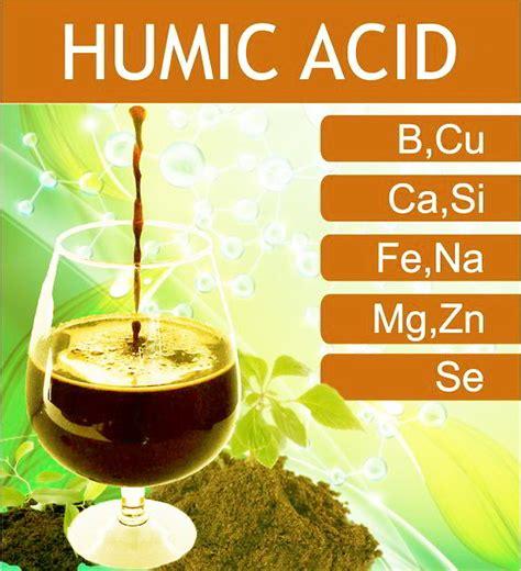 peran sifat   manfaat asam humat  asam fulvat
