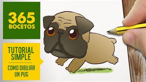imagenes de animales kawaii 365bocetos como dibujar un pug kawaii paso a paso dibujos kawaii