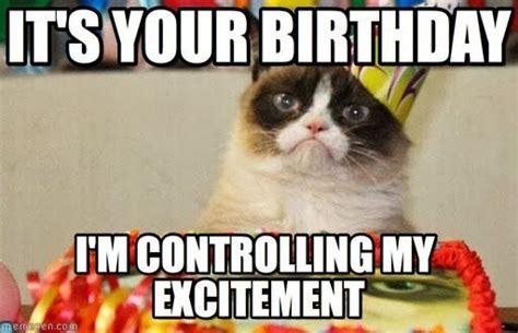 Birthday Grumpy Cat Meme - funny happy birthday meme google search i wish you