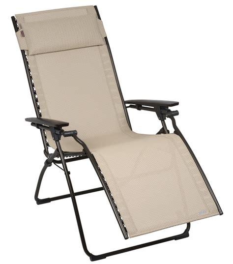lafuma fauteuil relax evolution batyline cannage color