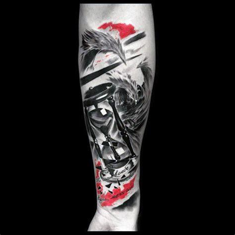 100 trash polka tattoos for men masculine design ideas