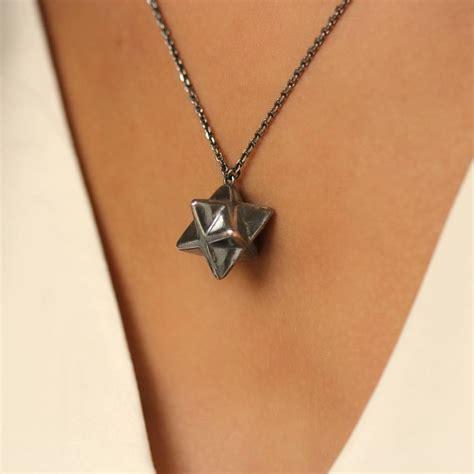 merkaba necklace by emily margaret hill jewellery