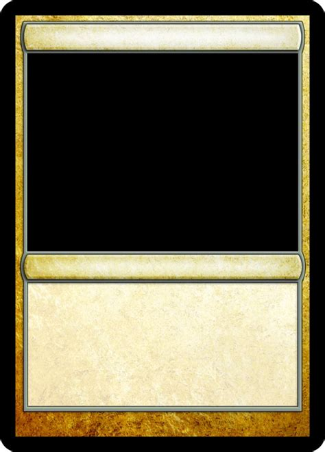 Blank Magic The Gathering Card Template by 16 Best Images About Mtg Templates On Black