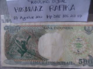 Uang Kertas Rp 500 Gambar Monyet uang lama indonesia langka uang langka indonesia