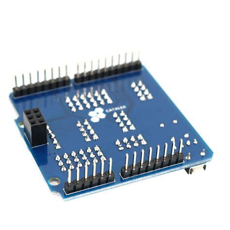 Sensor Shield Arduino Expansion Board Versi 50 io port expansion board sensor shield compatible with arduino uno leonardo mega2560 sale