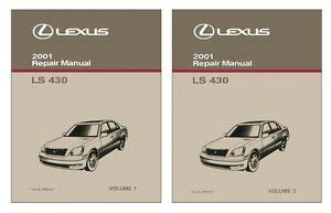 service manual 2002 lexus ls service manual free 2002 lexus ls430 owner s owners manual ls 430 repair manual ebay