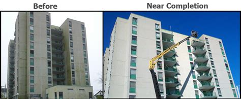 Fall River Housing Authority by Boston Mass Building Restoration Power Washing Waterproofing Caulking Services