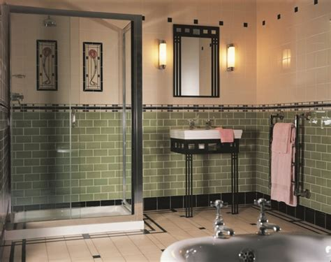 Small Vintage Bathroom Ideas Davaus Net Carrelage Salle De Bain Vintage Avec Des