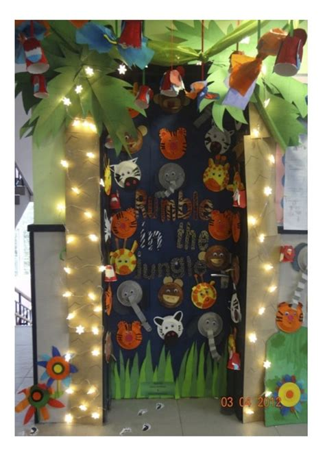 jungle theme classroom decorations 25 best ideas about jungle bulletin boards on