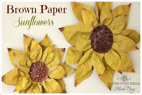 Paper Bag Crafts For Adults - how to make paper flowers flower tutorial scrapbooking