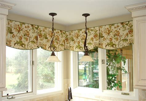 unique valance ideas curtain valances for kitchen kitchen and decor