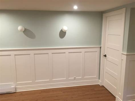 craftsman wainscoting a plate rail and the narrow strips - Craftsman Wainscoting