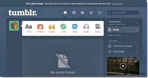 membuat blog tumblr panduan cara membuat blog di tumblr dilengkapi gambar