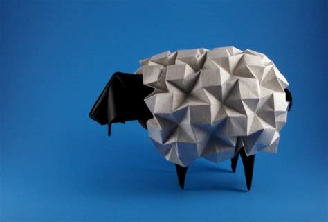How To Make A Origami Sheep - origami sheep goats and bovides page 1 of 3 gilad s
