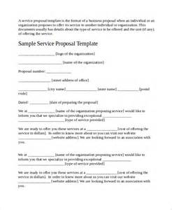 Business Service Template service template 8 free word pdf document
