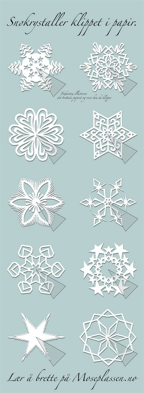 paper snowflake pattern instructions best 343 snowflake crafts images on pinterest diy and crafts