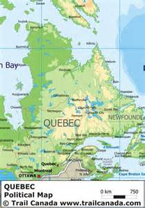 Quebec Canada Map by Maps Map Quebec Canada