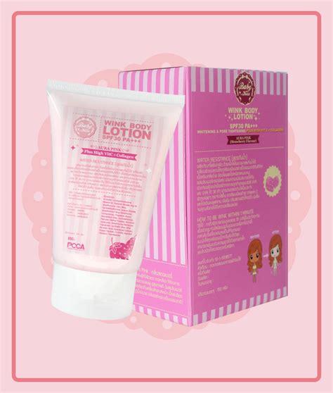 Whitening Spf 40 Pink baby wink white lotion 150ml aura pink reparing spf30pa track ebay