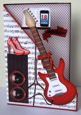 printable birthday cards guitar red electric guitar with red shoes mk cup597308 262