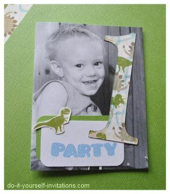 diy 1st birthday invitations make birthday invitations
