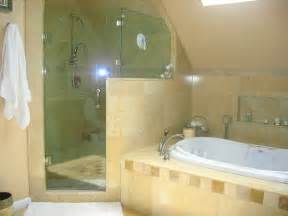 Jacuzzi Shower Bath Shower Amp Jacuzzi Tub Mediterranean Bathroom New York