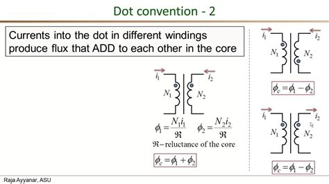 inductance dot convention inductor phase dot 28 images inductance dot convention inductor in series and parallel