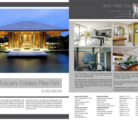 real estate feature sheet template free real estate photographer calgary feature sheets