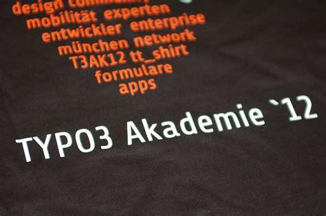 T Shirt Typo3 die shirts sind da
