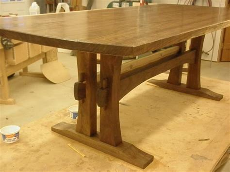 free wooden dining table plans quick woodworking projects