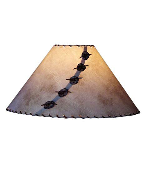Handmade Paper L Shades - rawhide glow l shade rustic artistry