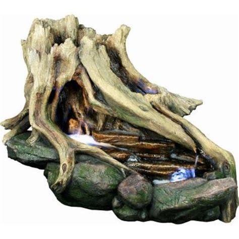 yosemite home decor fountains yosemite home decor tree stump polyresin cw08013