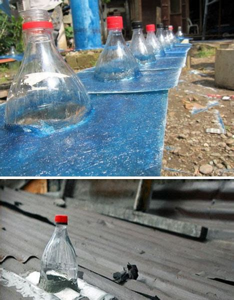 solar light water bottle solar bottle ls water 10 000 liters of light