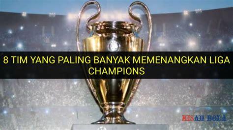 klub sepakbola  gelar juara liga champions
