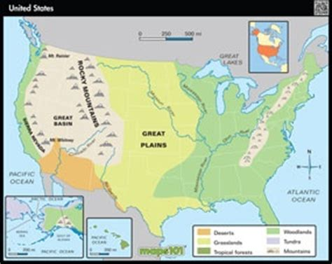 physical features of the united states map 17 best images about cc recources on bingo
